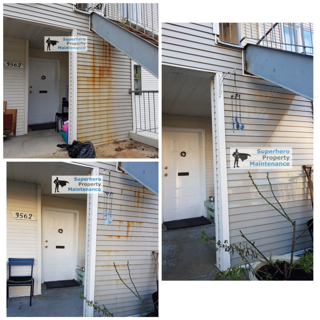 Rust Stain Removal Vancouver Superhero Property Building